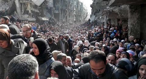 نداء عاجل من أهالي اليرموك لمساعدتهم