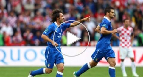 إيطاليا تفشل فى المحافظه على فوزها امام كرواتيا
