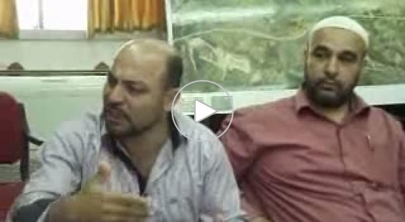 غنايم يزور الشاغور ويتضامن مع اعدادية دير الاسد