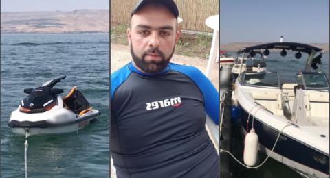 حازم عازم من الطيبة ضحية حادث اصطدام القوارب في طبريا!