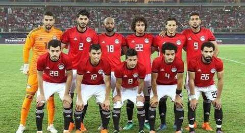 المنتخب المصري يبدأ رحلته باتجاه روسيا
