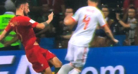 هاتريك كريستيانو رونالدو يمنح البرتغال تعادلا مثيرا مع إسبانيا
