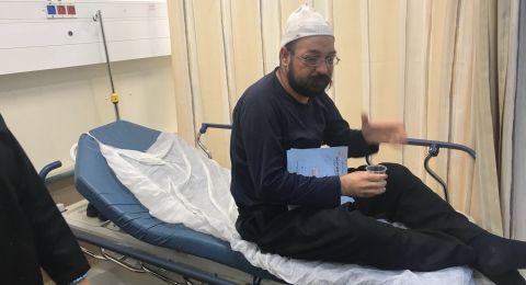 مجهولون يعتدون على الشيخ اسعيد ستاوي وحالة من الغضب