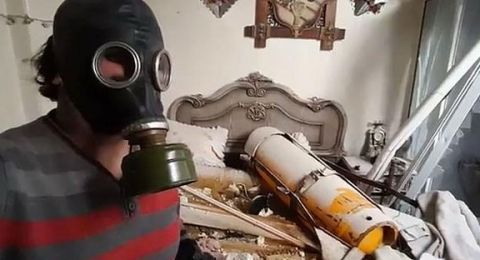 روسيا تكشف: الجيش الحر يحضّر لتمثيل هجوم كيميائي جديد في دير الزور