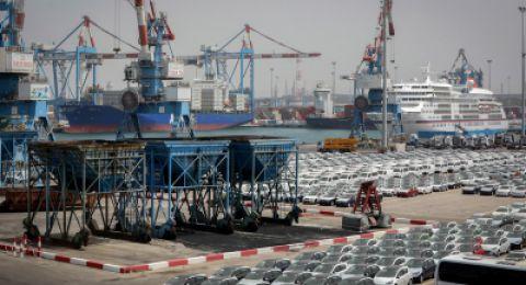 ارتفاعات في الصادرات والواردات بين اسرائيل والصين