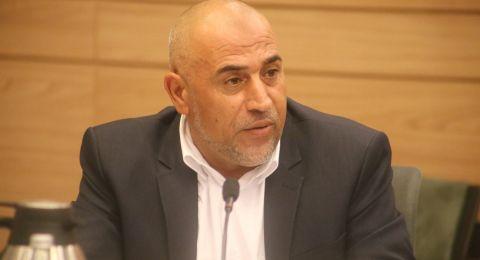 النائب طلب ابو عرار يقدم مجددا اقتراحا للكنيست لتشكيل لجنة تحقيق برلمانية في احداث ام الحيران