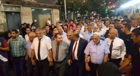 الناصرة: مشاركة آلاف المحتفلين في مسيرة عيد الفطر السعيد