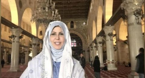 بعد زيارتها للمسجد الأقصى.. إعلامية عربية لكاتب إسرائيلي: شكرًا يا ابن العم