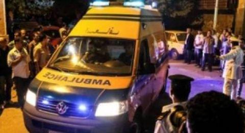 إصابة 39 في انفجار بمنطقة صناعية شمالي مصر