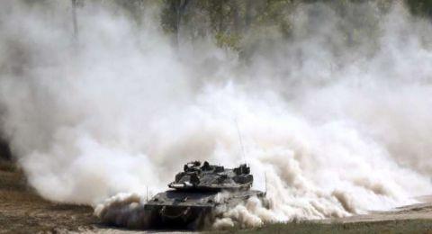 تمرين عسكري مفاجئ للجيش الإسرائيلي في الجولان المحتل