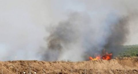 """اندلاع 11 حريقاً في مستوطنات """"غلاف غزة"""" بفعل الطائرات والبالونات الحارقة"""