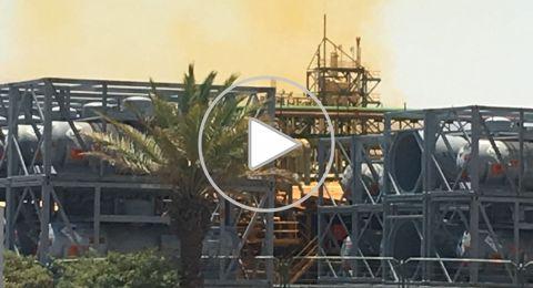 البحر الميت: تسرب مواد خطيرة من مصانع الأملاح واغلاق شارع رقم 90