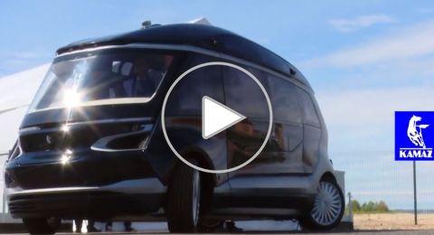 روسيا تطرح حافلات متطورة ذاتية القيادة