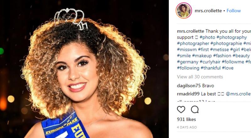 تتويج بلجيكية بلقب ملكة جمال مونديال 2018