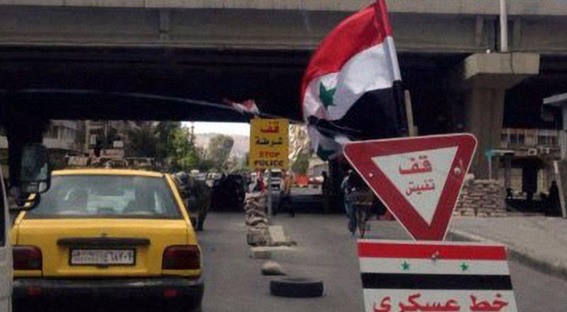 دمشق تتنفس الصعداء وتتخلص من حواجزها