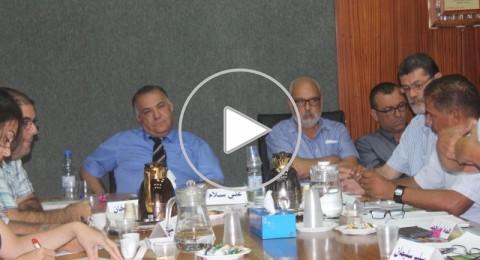 تفاصيل جلسة بلدية الناصرة