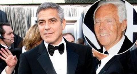 جورج كلوني يختار جورجيو أرمانى لتصميم بدلة زفافه