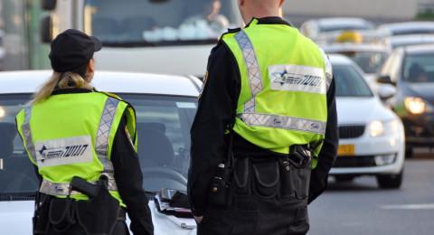 حيفا: ضبط سائق مسحوب الرخصة وهو يقود سيارة خطيبته والتحقيق معهما