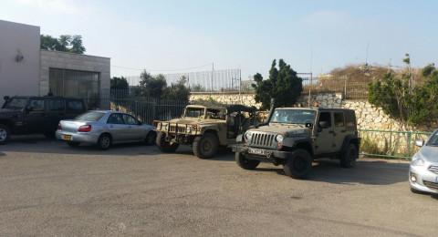 قيادة الجيش تعتذر لمجلس يافة عن التواجد في المدرسة