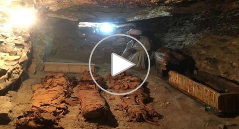 مصر: العثور على كنز أثري فريد