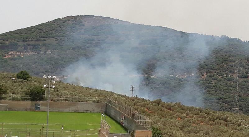 حريق ضخم في منزل في يافة الناصرة