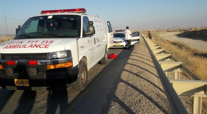 إصابة بالغة لمواطن بحادث طرق قرب عرعرة النقب!