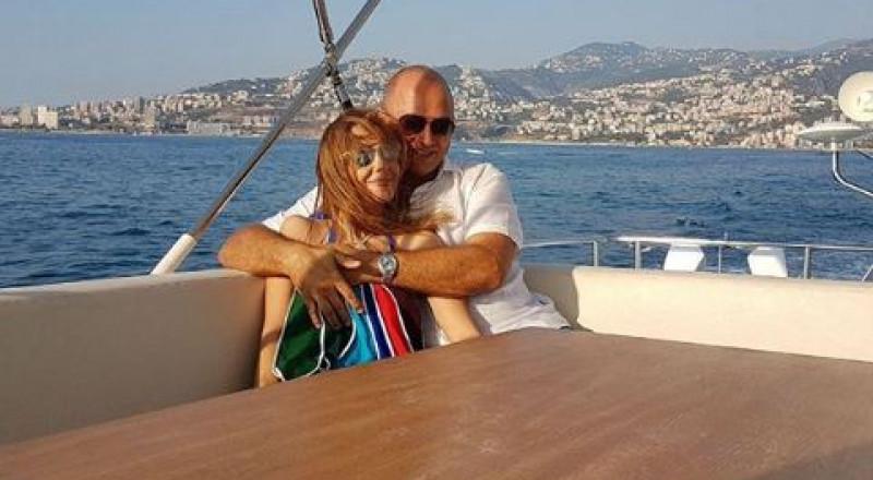 نانسي عجرم وزوجها.. في رحلة رومنسية!