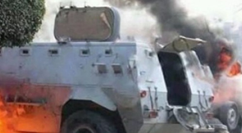 استشهاد 18 شرطيًا مصريًا بهجوم لداعش غرب العريش