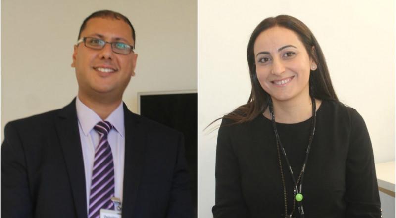 صونيا مسعود ومحمد هيبي: