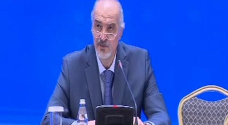 الجعفري يعلن الاتفاق على إنشاء منطقة خفض توتر في إدلب