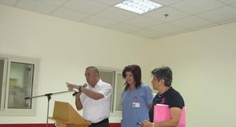 مستشفى العائلة المقدسة ينظم يوما للتوعية الصحية لنساء دبورية وكفركنا