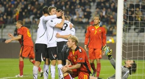 بلجيكا تعرقل انطلاقة النمسا في تصفيات يورو 2012