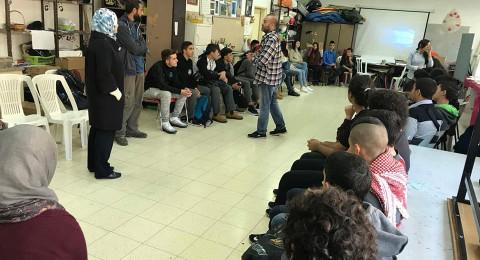 جمعية انماء تستقبل وفد طلابي من مدينة القدس