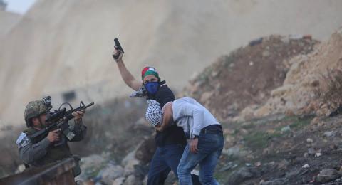 تجدد المواجهات بالضفة .. والمستعربون يخطفون المتظاهرين -شاهدوا الصور