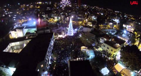 تضامنا مع القدس: الناصرة تقرر إضاءة شجرة الميلاد باحتفال متواضع يوم السبت 16/12 والغاء مظاهر الاحتفال