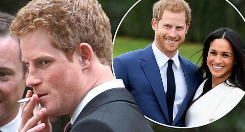 الأمير هاري يقلع عن التدخين بسبب خطيبته ميجان ماركل