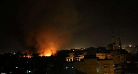 إسرائيل تقصف قطاع غزة