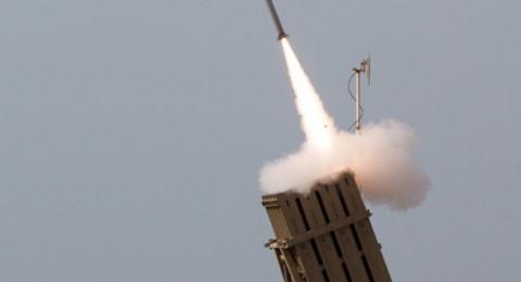 سلاح الجو الاسرائيلي يعترض صاروخين اطلقا من قطاع غزة