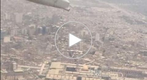 بالفيديو- طيار أردني: سنحلق فوق القدس، عاصمة دولة فلسطين
