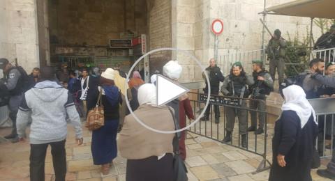 الشرطة الإسرائيلية تعزز من تواجدها بالقدس عشية صلاة الجمعة