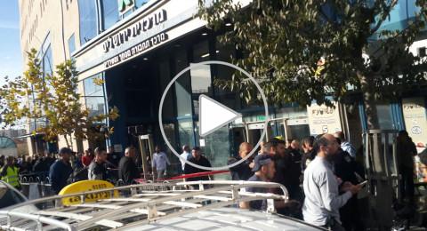 القدس: اصابة خطرة لحارس امن خلال عملية طعن