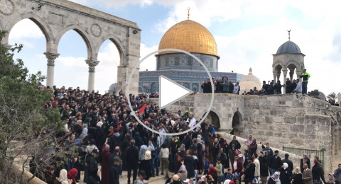 فيديو: اعتداء على امرأة فلسطينية وإغمائها