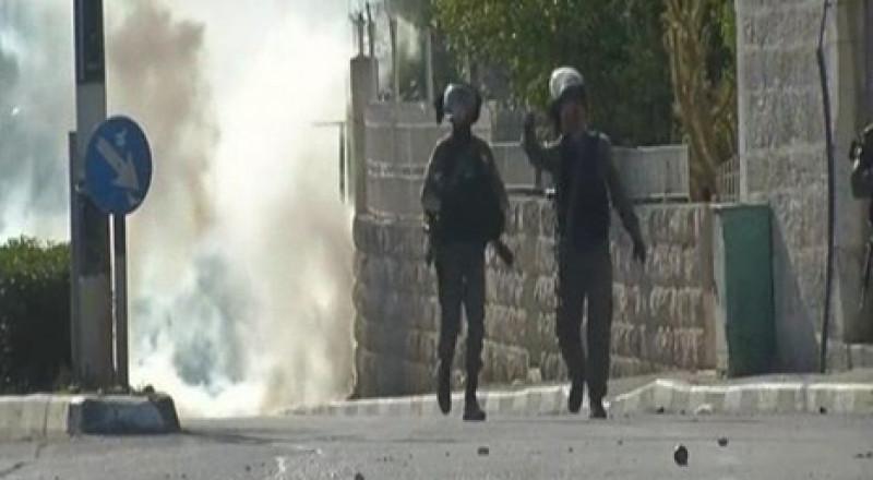 شهيدان فلسطينيان بغارة إسرائيلية في غزة، ومواجهات في بيت لحم