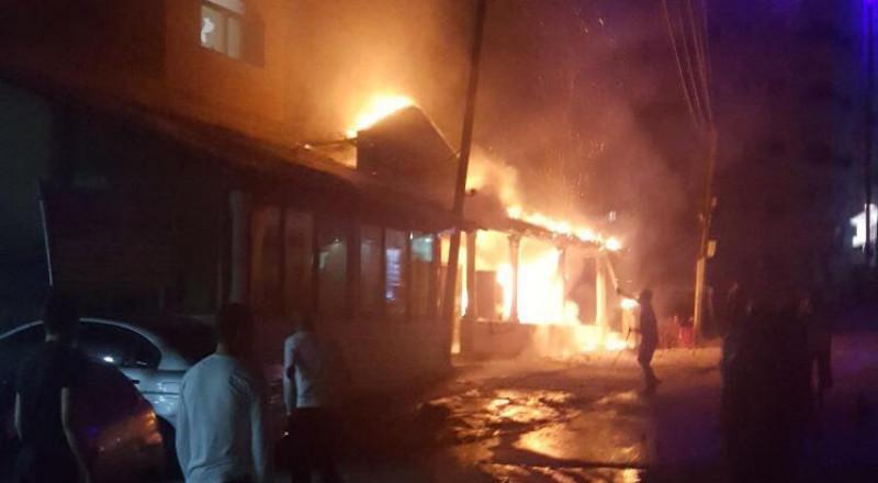 حريق وإطلاق نار بسكنات الجامعة الأمريكية في جنين