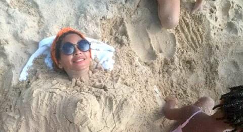 صورة للنجمة بيونسيه تثير الشكوك حول حملها من زوجها جاى زد
