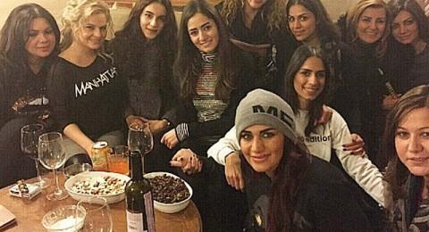متابعو سوزان نجم الدين يتهمونها بشرب الكحول
