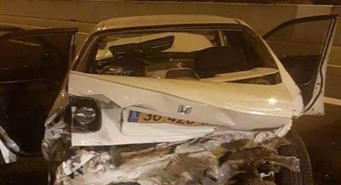 إصابة شابين من كفر مندا بحادث طرق خطير قرب شفاعمرو