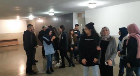 المدرسة الثانوية الشاملة في كفر قاسم تجري تمرين الطوارئ ...
