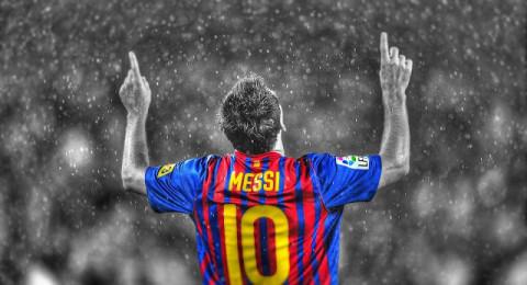 رقم جديد لميسي مع برشلونة