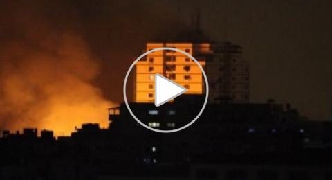 طائرات الـF16 الاسرائيلية تقصف عدة مواقع في قطاع غزة وصافرات انذار في النقب